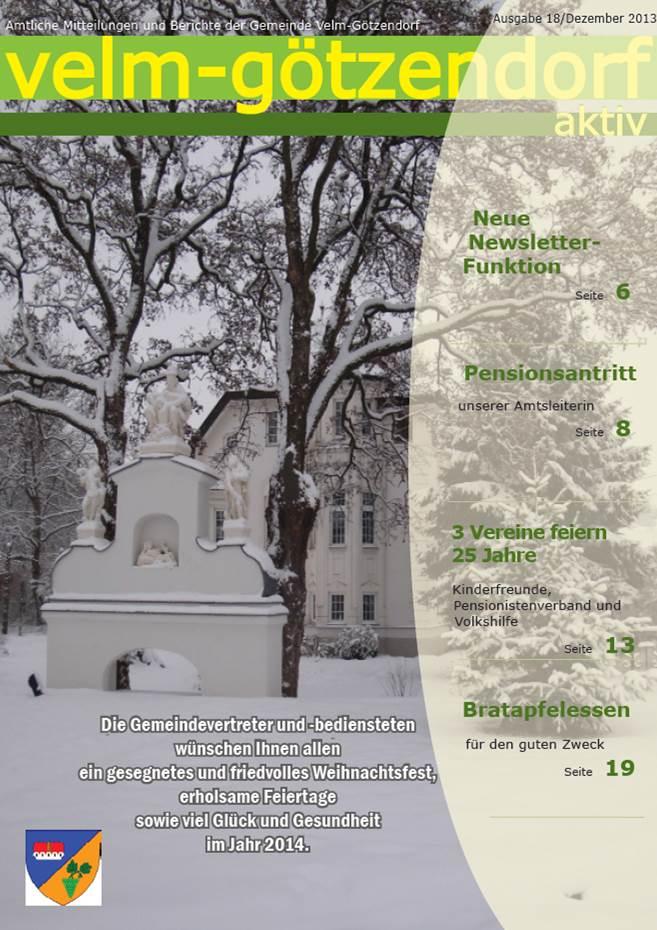Gemeindezeitung Winter 2013